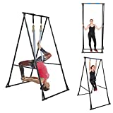 KT Aerial Yoga Stand Frame Indoor Outdoor...