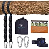 Tree Swing Straps Kit-Two Adjustable (20loops...
