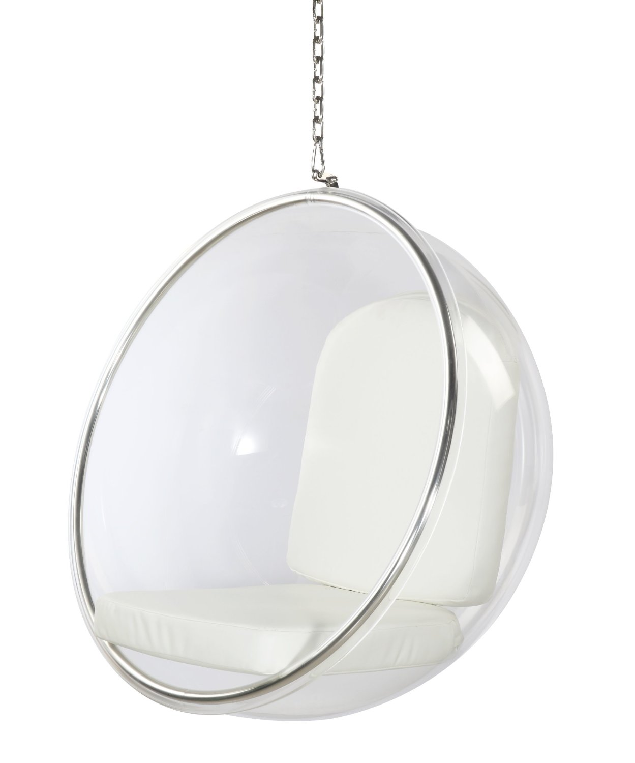 transpared bubble chair