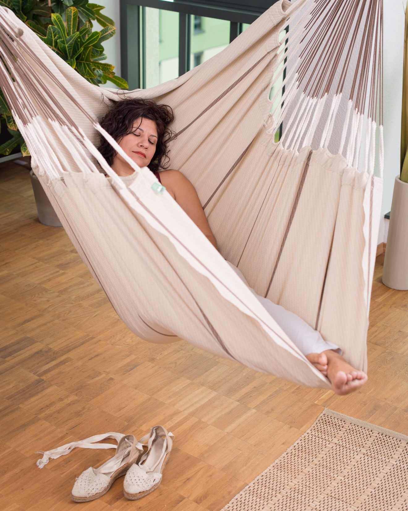 Hammock Chair for strong core and the sence of balance