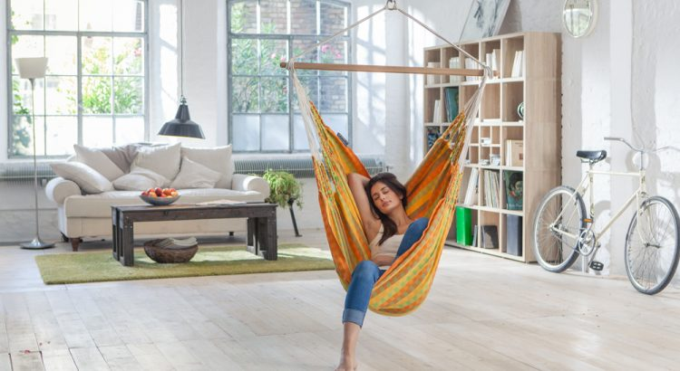 Indoor-Hanging-Hammock-Chair-La-Siesta - Hanging Hammock Chair Reviews