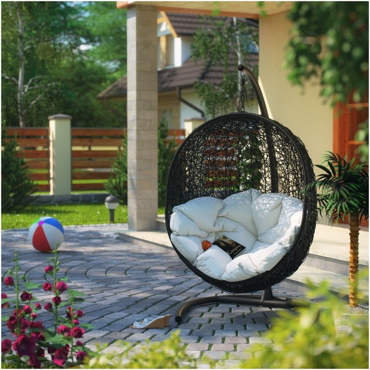Merveilleux All Weather Outdoor Wicher Swing Chair Very Roomy