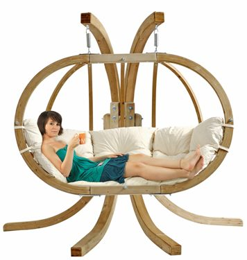 Hanging Basket Chair Globo Double