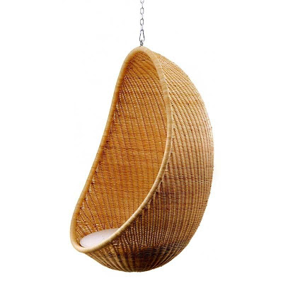 hanging egg chair-nanna and jorgen ditzel