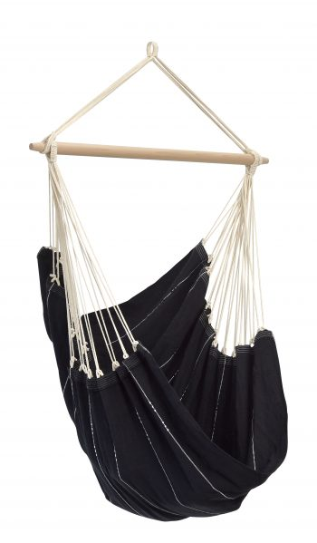 hanging hammock chair black- by Byer of Maine