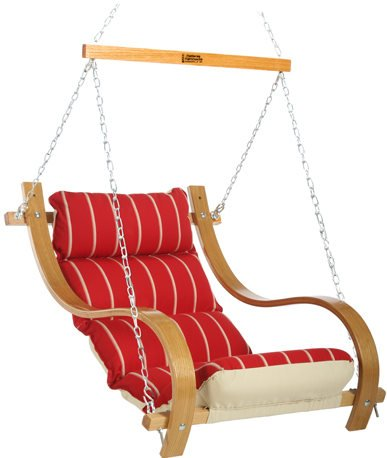 Single Swing Chair with Armrest