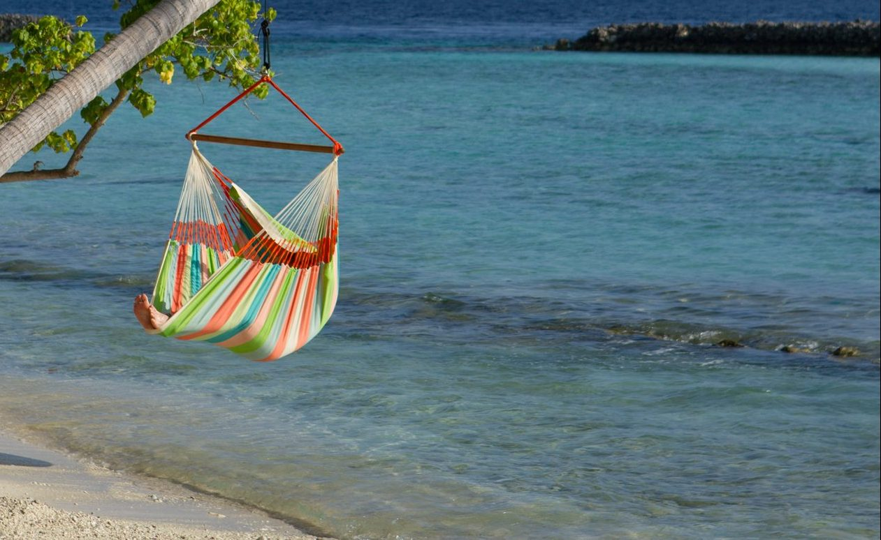 Hammock Chair Over the Water