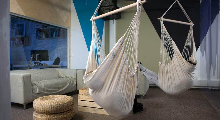 Hammock Chairs in Living Room