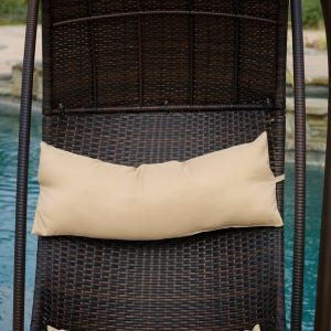 hanging chair lounger pillow