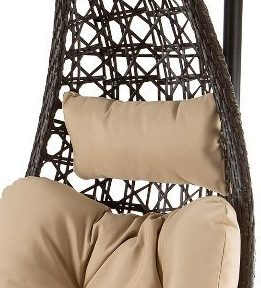 Hanging Swing Chair with Pillow