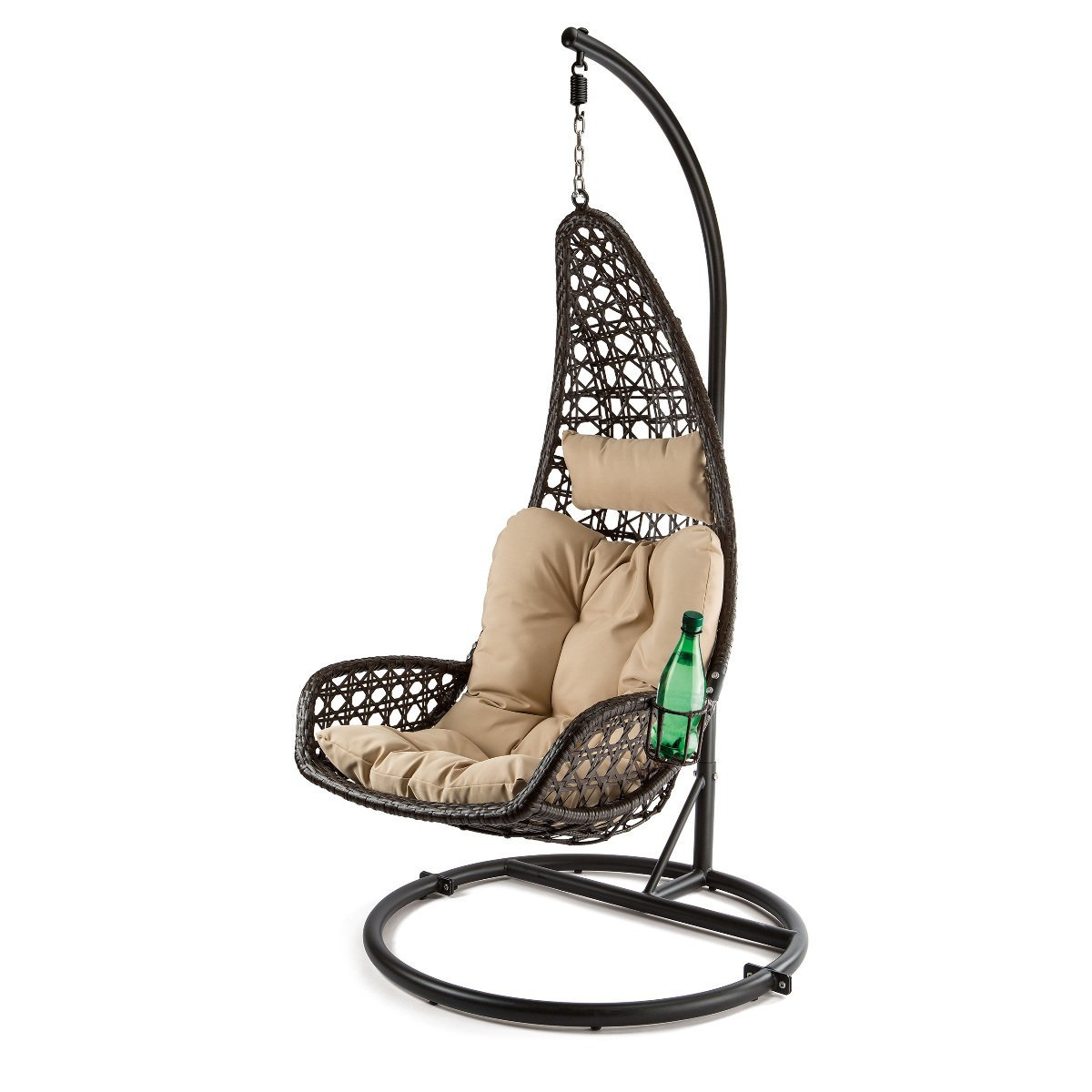 Hanging chair with cup holder- product review