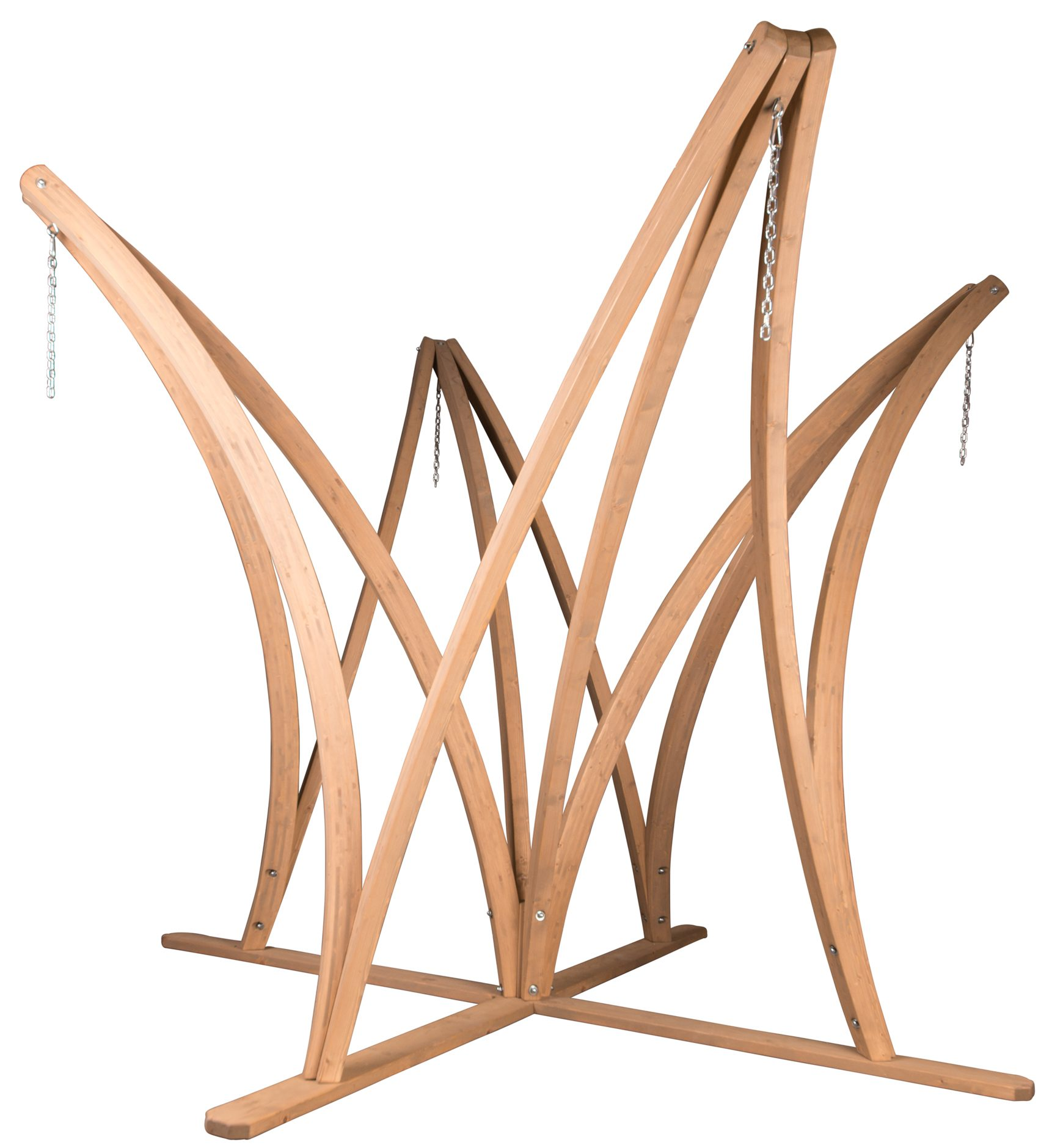 wooden Stand for 2 3 or 4 hammocks