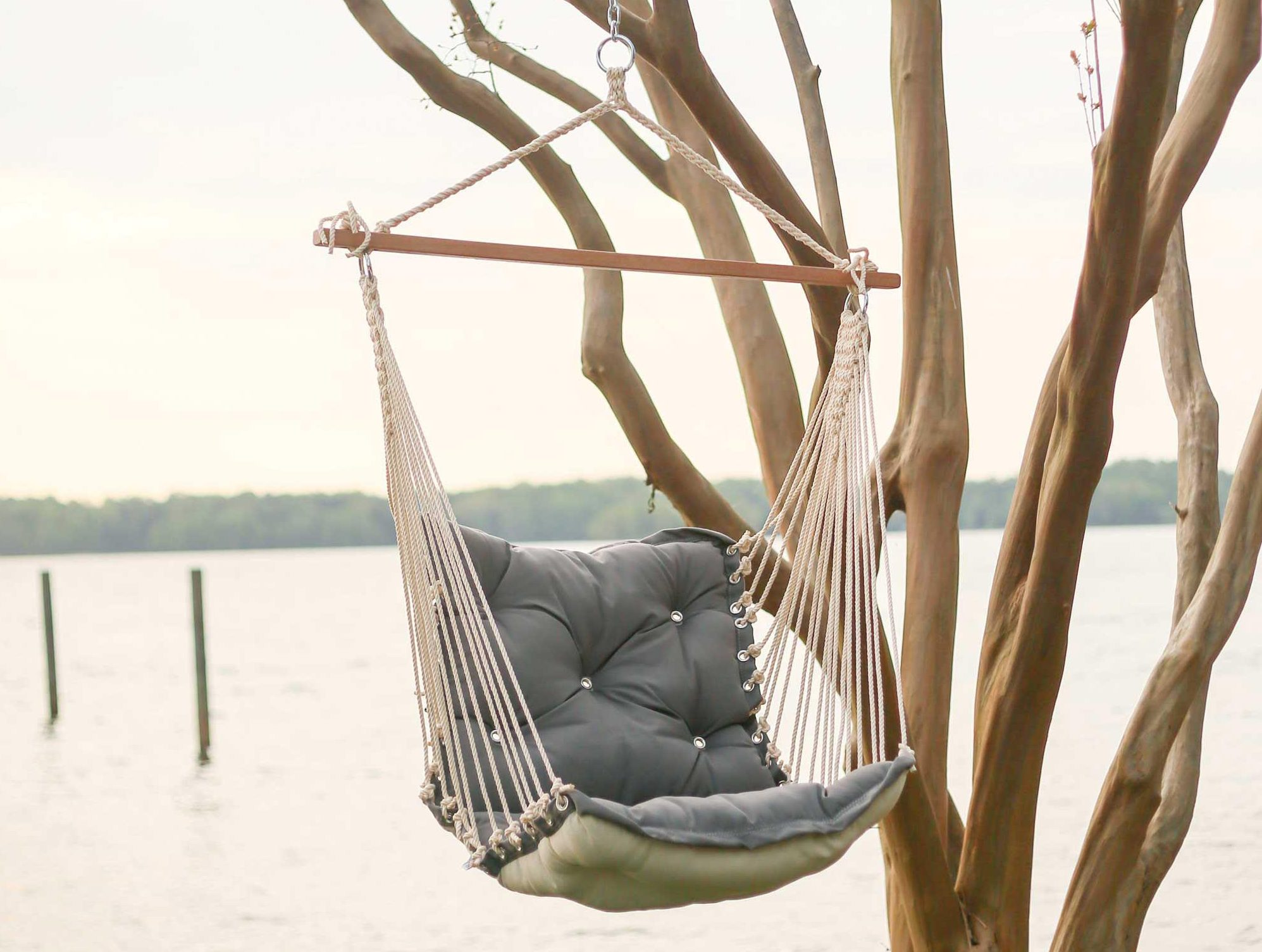 outdoor hammock chair tufted