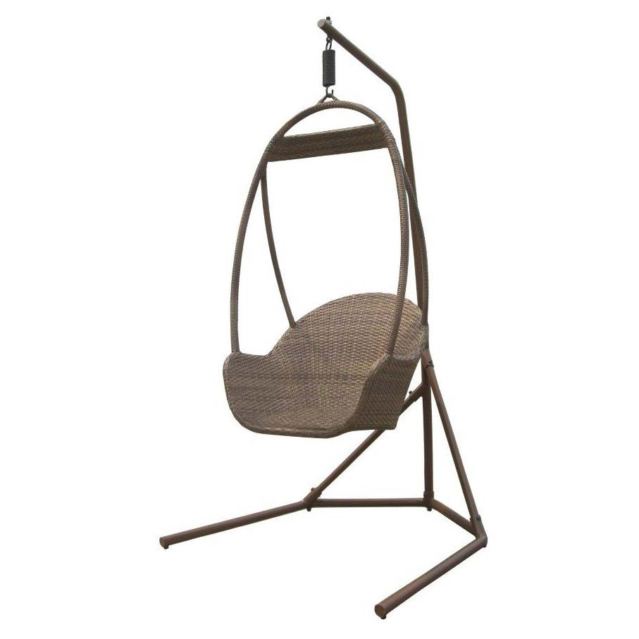 Small Hanging Chair with Stand