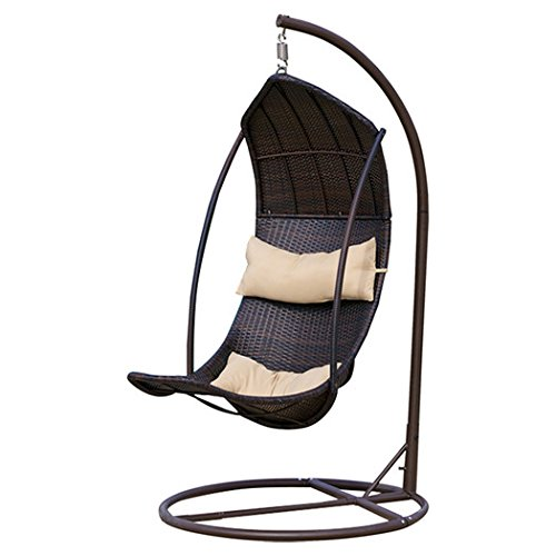 Swing Chair Lounger with Stand by Great Deal Furniture