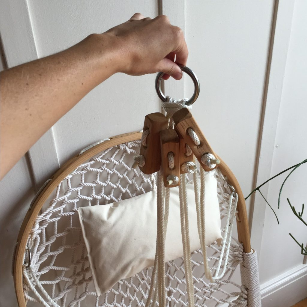 the hardware  heavy duty porch swing hook  is included  review  original cobble mountain hanging hammock chairs with footrest  rh   hanging chairs