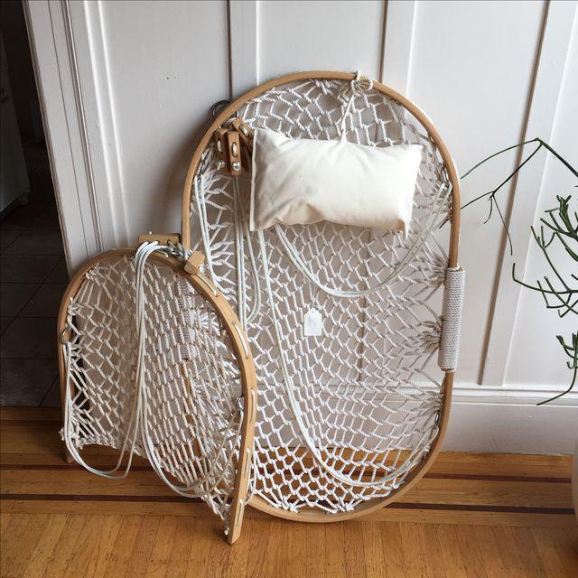 oak rope hammocks with foot rest