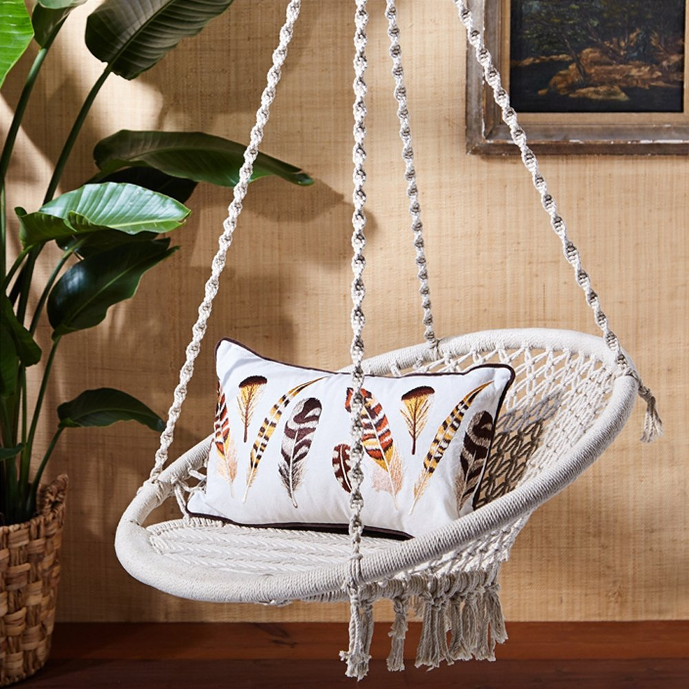 Out of Africa Macrame Hanging Chair