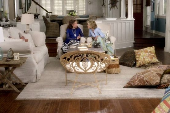 Grace & Frankie & Jo-Lizas Rope Lace Chair