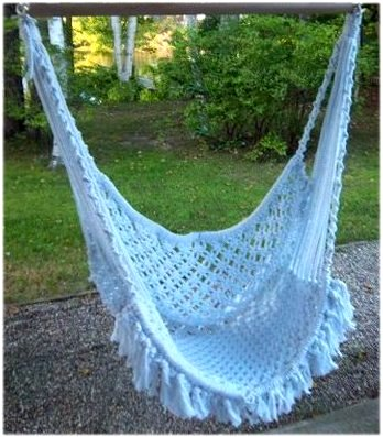 Macrame Garden Chair - DIY