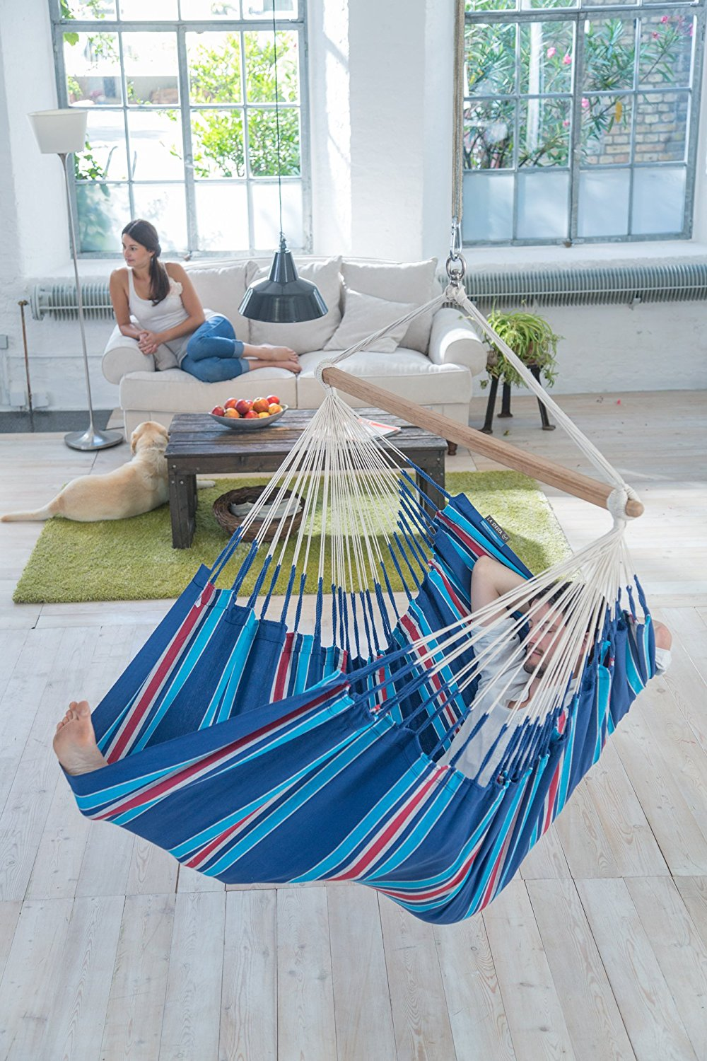 hammock swing two person lounger
