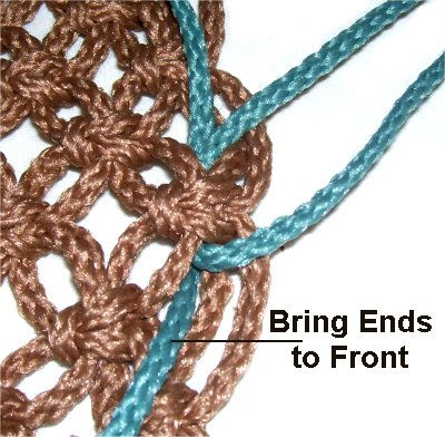 step by step- how to macrame a hammock chair