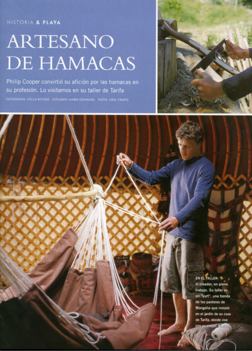 Habitannia decor magazine Hammock Chair