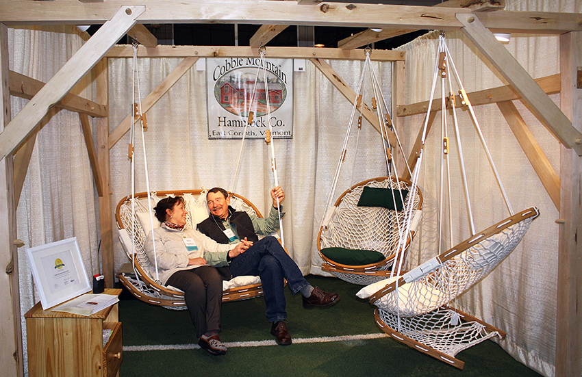 Cobble-Mountain-Hammock-Swing-with-Gordon-and-Nancy- made in the USA
