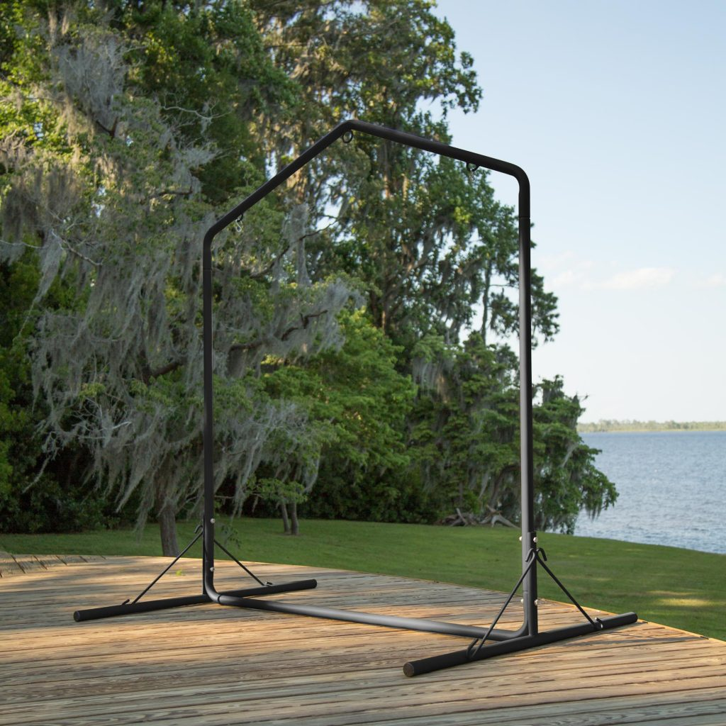 Metal Swing Stand Black
