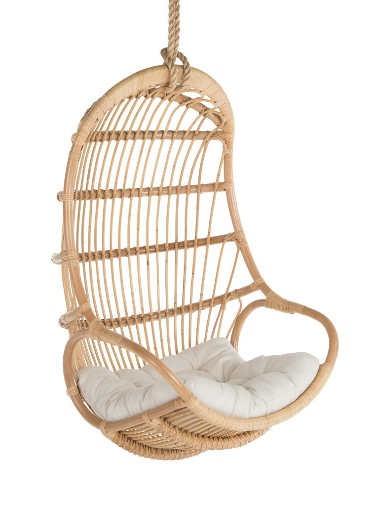 Natural Rattan Swing Chair by Kouboo