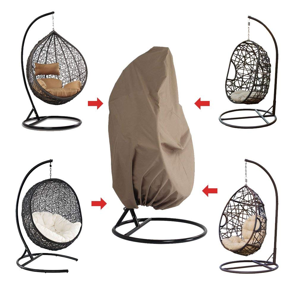 This Hanging Chair Cover is suitable for most of the hanging chairs in the market