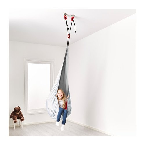 hanging chair for kids by IKEA