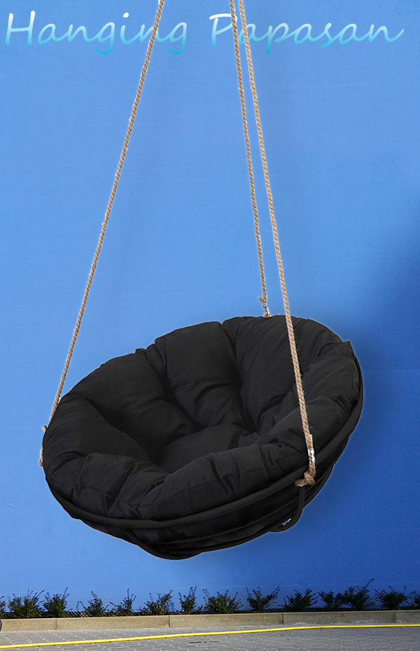 black-hanging-papasan-chair-blue