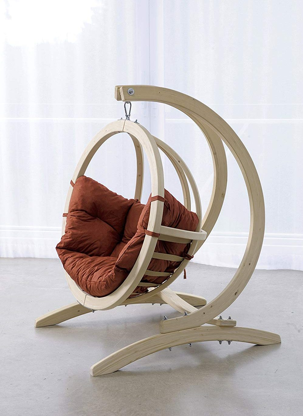 globo chair for kids treated-wood with stand bayer of maine
