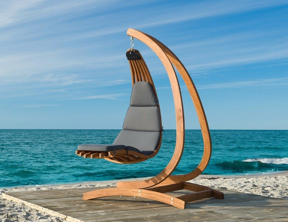 Fine Review Luxury Wooden Hanging Lounge Chair Wave By Jagram Frankydiablos Diy Chair Ideas Frankydiabloscom