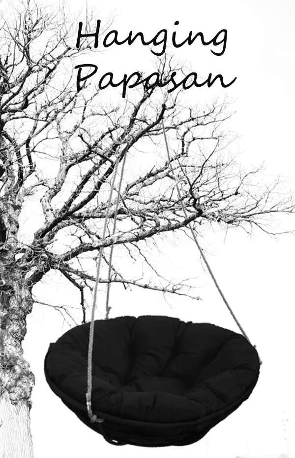 hanging-papasan-chair-on-the-tree