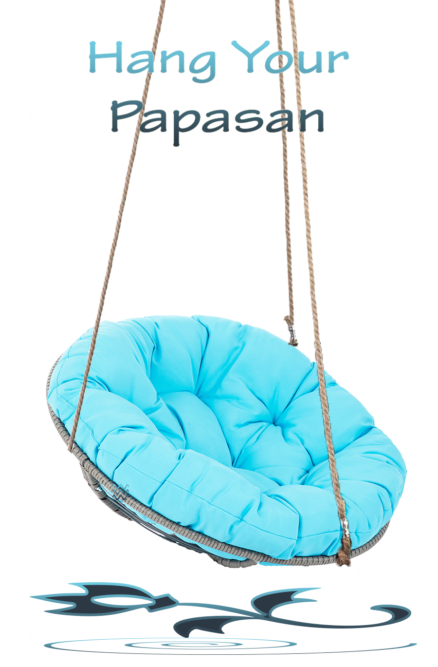 DIY-Hanging-Papasan-Chair-Blue-Cushion