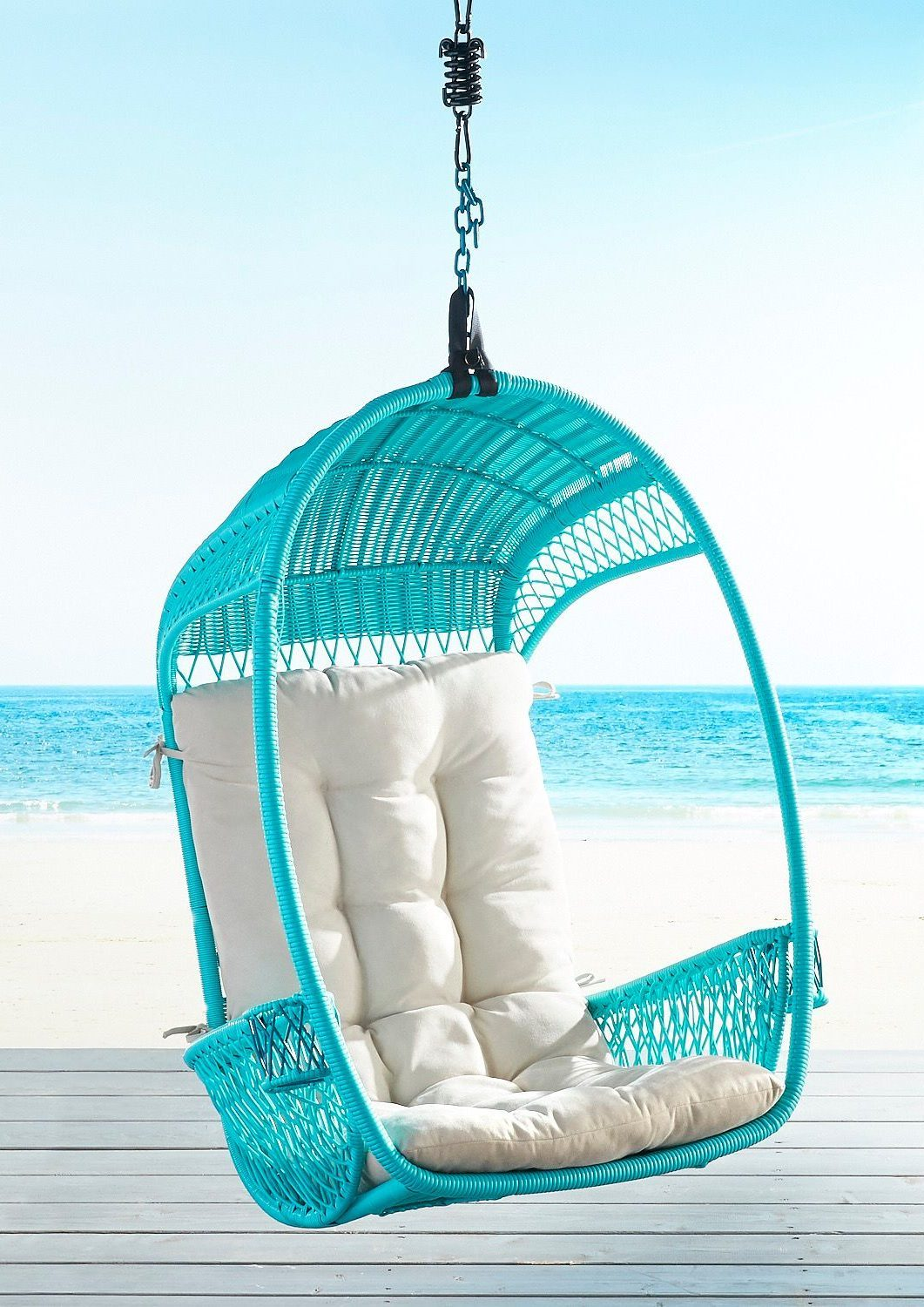 turquise-swingasan-chair-with-cushion-review