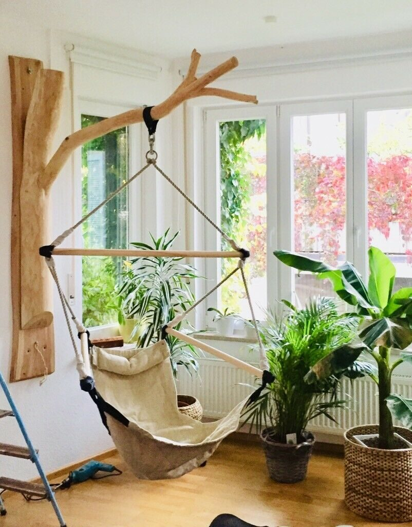 wooden-tree-hanging-chair-stand-diy-hammock-chair