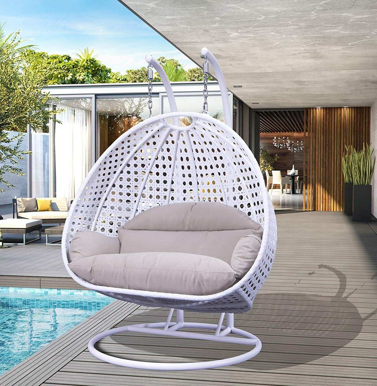 2-person-white-wicker-hanging-chair-hammoc-swing-with-stand-on-the-porch