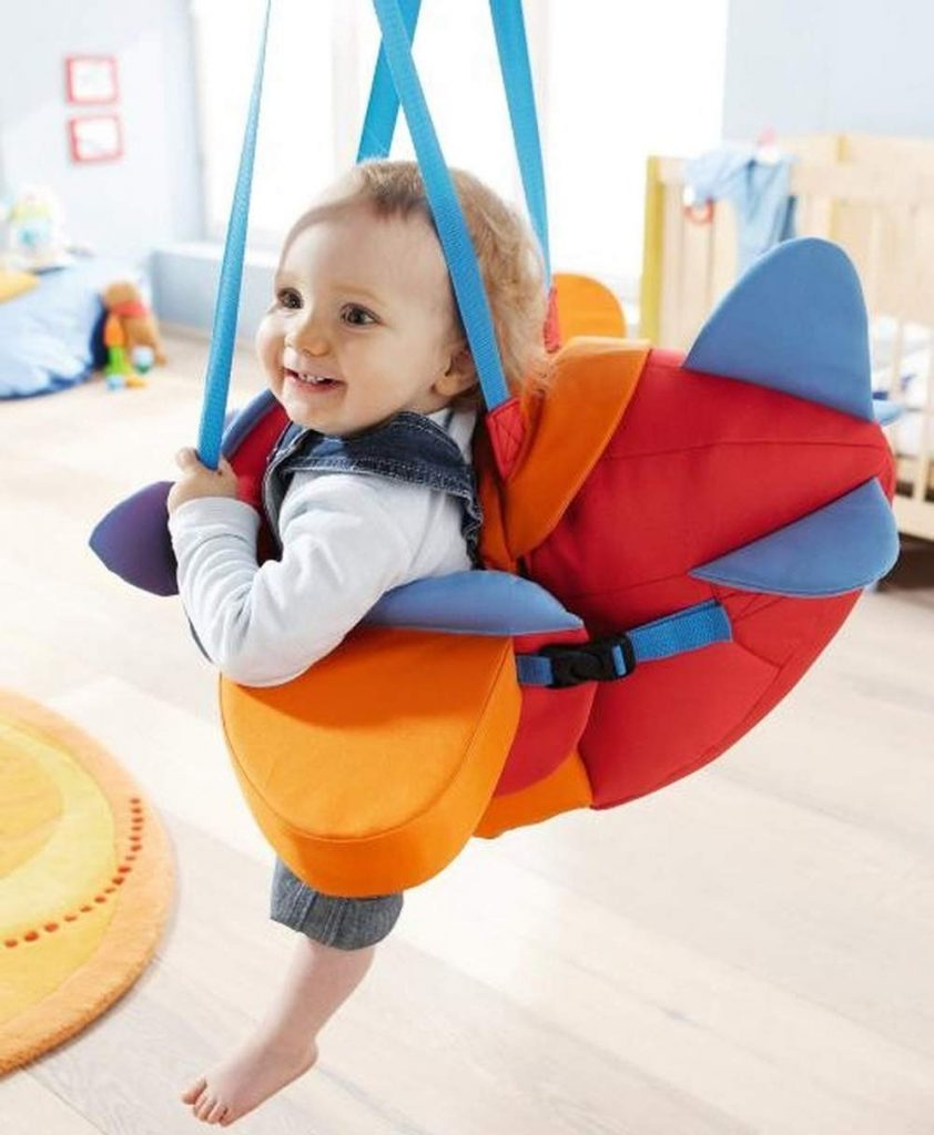 HABA-Horse-Baby-Indoor-Swing -Adjustable-Height-soft-material