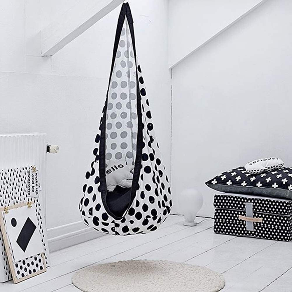 black-and-white-dots-kids-hanging-pod-designes
