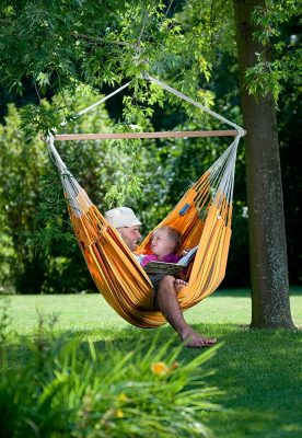 Review Cotton Hammock Chair Swing Lounger By La Siesta Extra Large