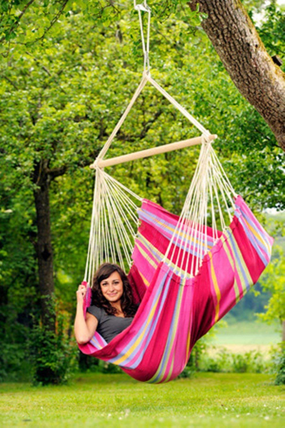 brazilian-hammock-chair-favorable-and-the-high-quality-a-woomen-in-the-hammock-hanging-from-tree