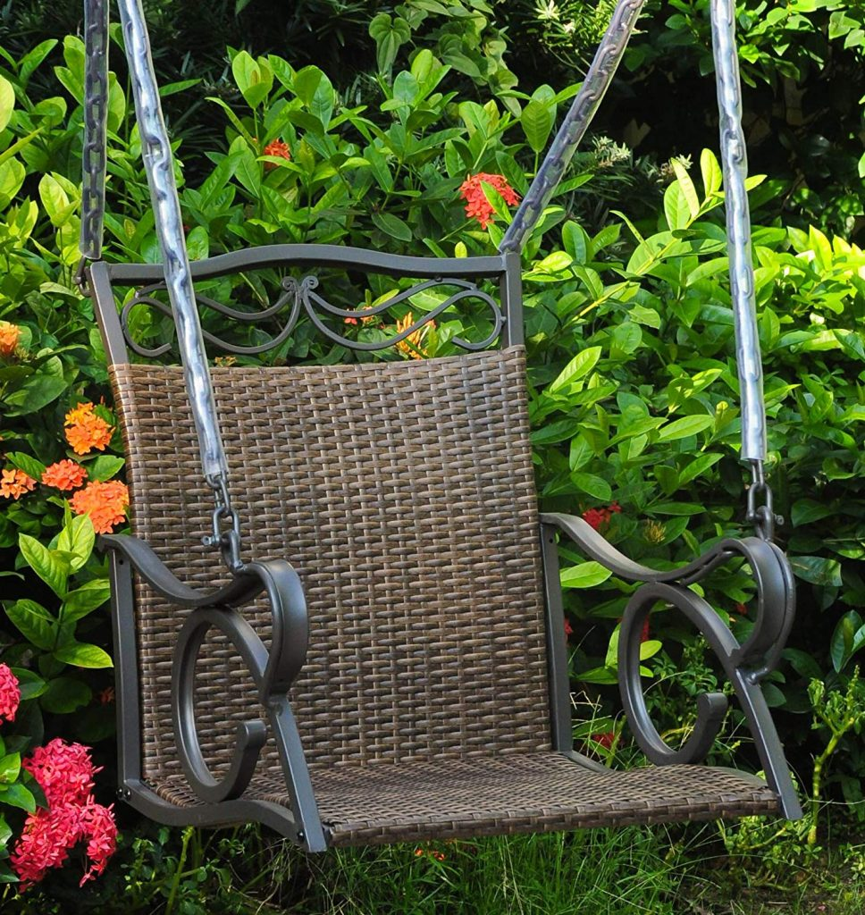 resin-wicker-one-person-porch-swing-with-armrest