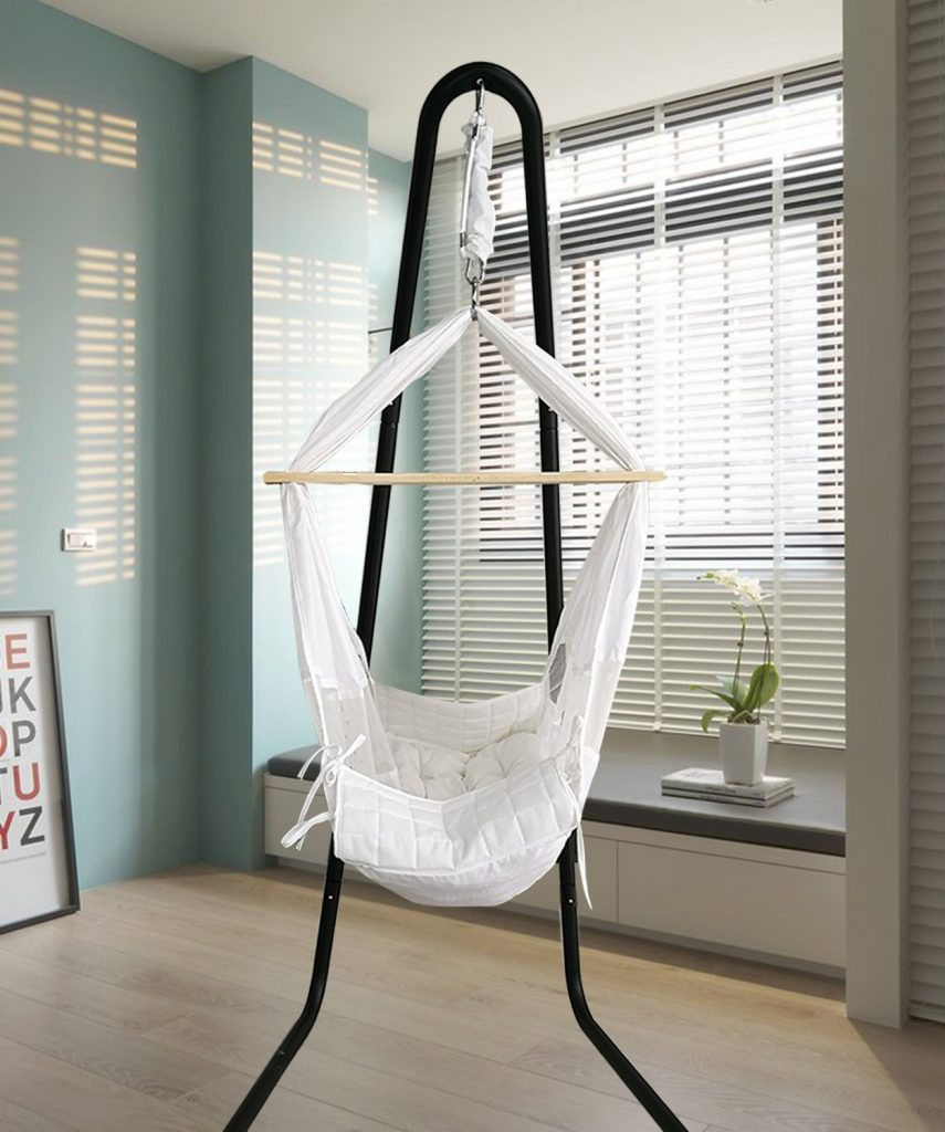Baby-Hammock-Cradle-Swing-Crib-with-Stand-Hanging-Bassinet-for-Nursery-Newborn