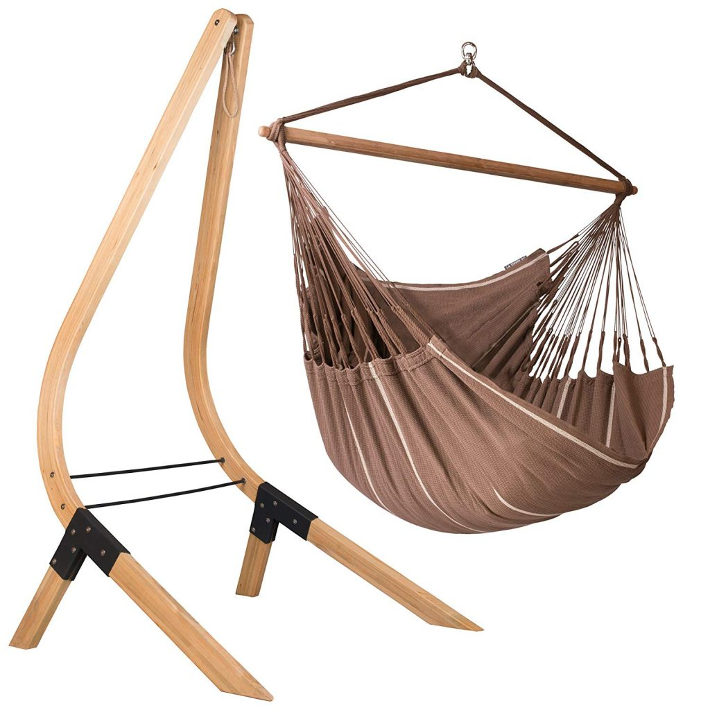 Organic-Cotton-Lounger-Swing-with-stand-large-Hammock-Chair-with-Stand-for-two