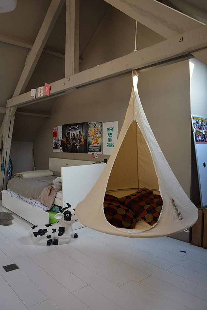 cacoon-white-hanging-chair-for-indoors-in-bedroom-hanging-from-ceiling
