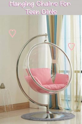 Transparent-Acrylic-Indoor-Glass-Ball-Chair-with-Pink-Cushion-and-Stand