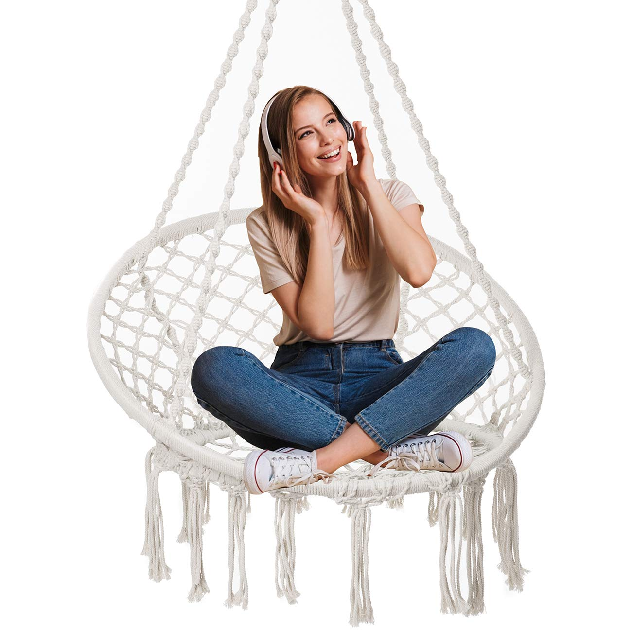 hanging-macrame-chair-for-teenage-girl